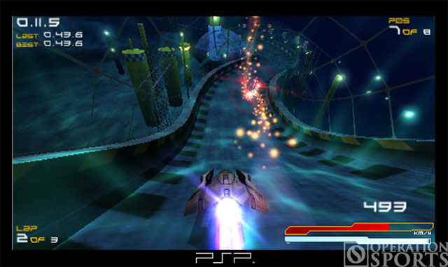 Wipeout Pure Screenshot #1 for PSP