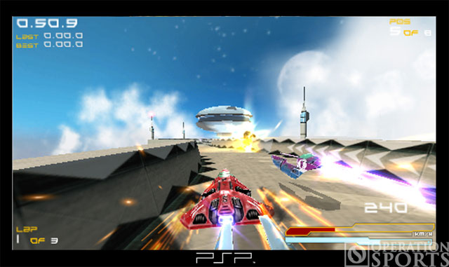 Wipeout Pure Screenshot #2 for PSP