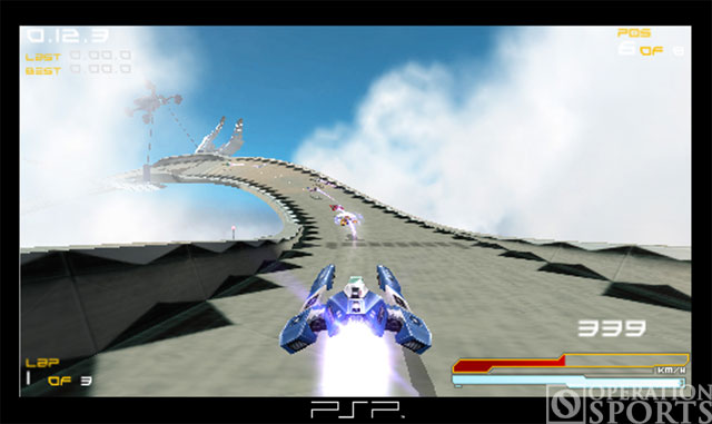 Wipeout Pure Screenshot #3 for PSP