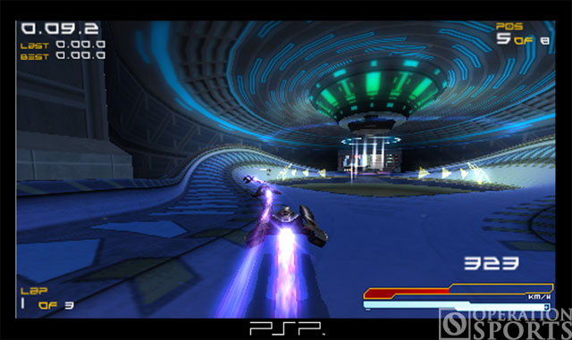 Wipeout Pure Screenshot #4 for PSP