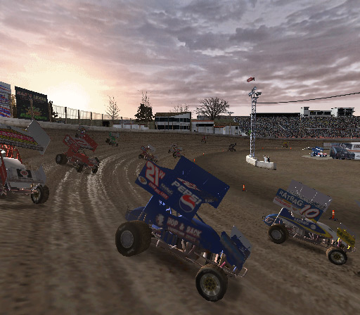 World of Outlaws Sprint Cars 2002 Screenshot #1 for PS2