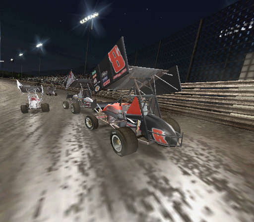 World of Outlaws Sprint Cars 2002 Screenshot #2 for PS2