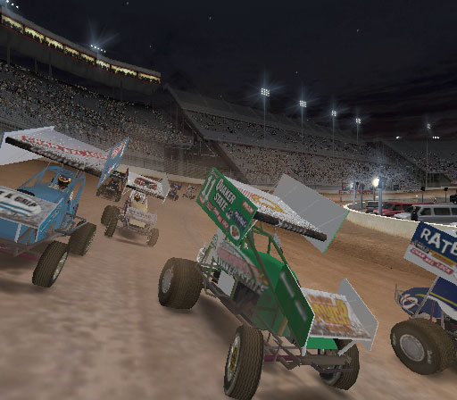 World of Outlaws Sprint Cars 2002 Screenshot #4 for PS2