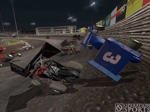 World of Outlaws: Sprint Cars Screenshot #1 for PC