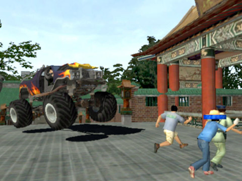 Wreckless: The Yakuza Missions Screenshot #1 for Xbox