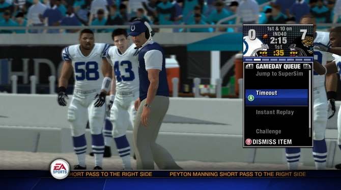 NFL Head Coach 09 Screenshot #11 for Xbox 360