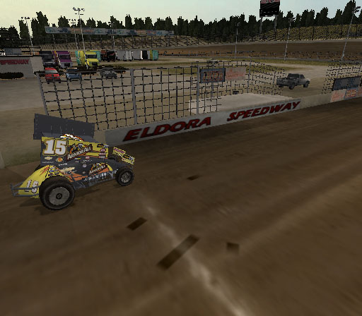 Sprint Cars 2: Showdown at Eldora Screenshot #10 for PS2