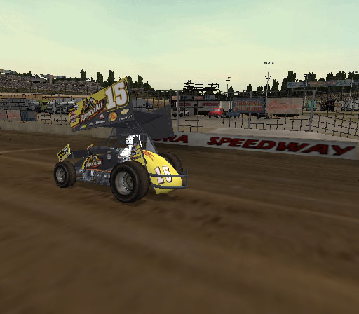 Sprint Cars 2: Showdown at Eldora Screenshot #11 for PS2