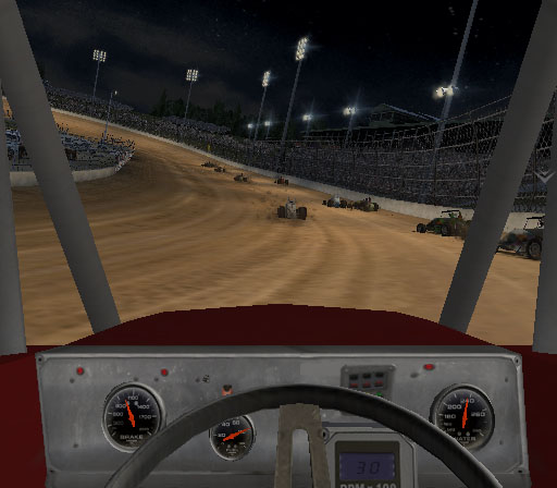 Sprint Cars 2: Showdown at Eldora Screenshot #3 for PS2