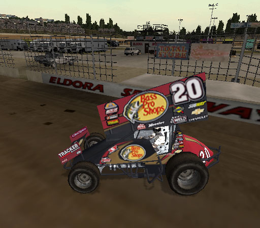 Sprint Cars 2: Showdown at Eldora Screenshot #6 for PS2
