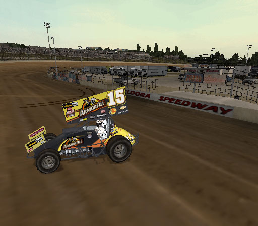 Sprint Cars 2: Showdown at Eldora Screenshot #9 for PS2