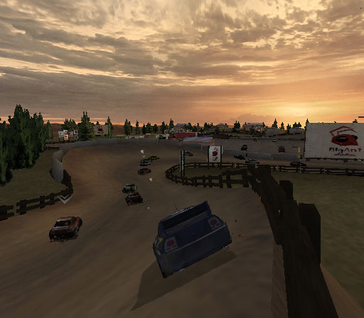 Sprint Cars 2: Showdown at Eldora Screenshot #22 for PS2