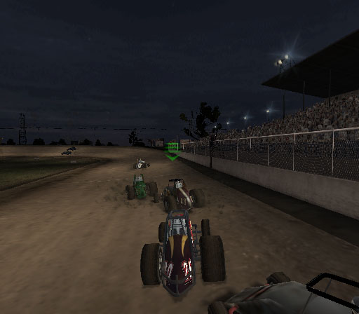 Sprint Cars 2: Showdown at Eldora Screenshot #13 for PS2