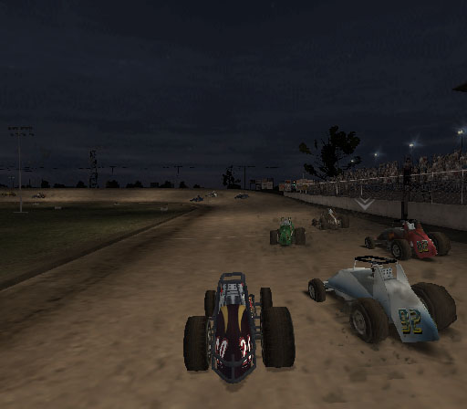 Sprint Cars 2: Showdown at Eldora Screenshot #14 for PS2