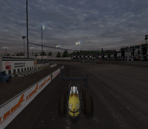 Sprint Cars 2: Showdown at Eldora Screenshot #16 for PS2