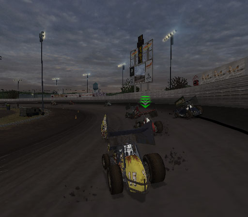 Sprint Cars 2: Showdown at Eldora Screenshot #17 for PS2