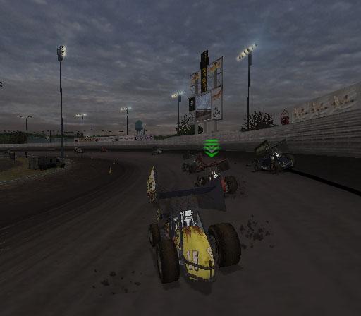 Sprint Cars 2: Showdown at Eldora Screenshot #17 for PS2