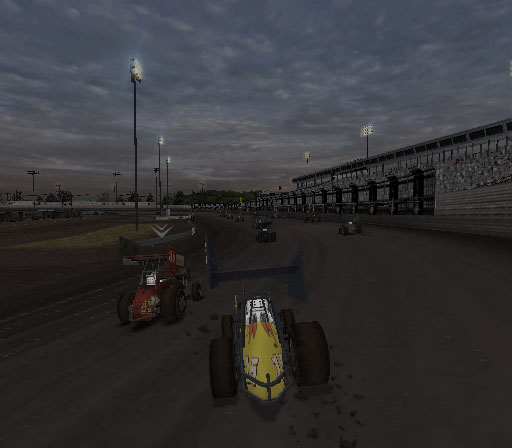 Sprint Cars 2: Showdown at Eldora Screenshot #18 for PS2