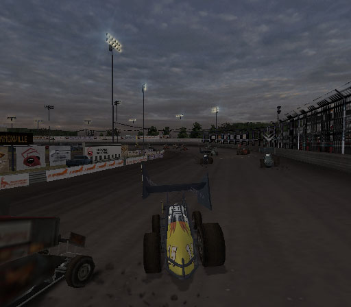 Sprint Cars 2: Showdown at Eldora Screenshot #19 for PS2