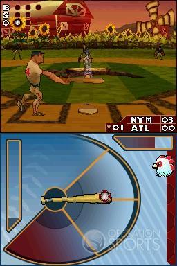 Major League Baseball 2K8 Fantasy All-Stars Screenshot #18 for NDS