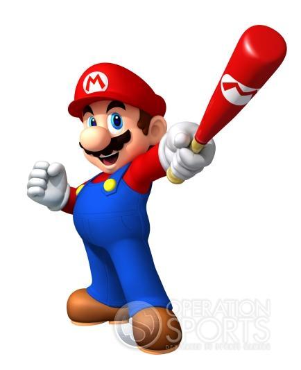 Mario Super Sluggers Screenshot #1 for Wii