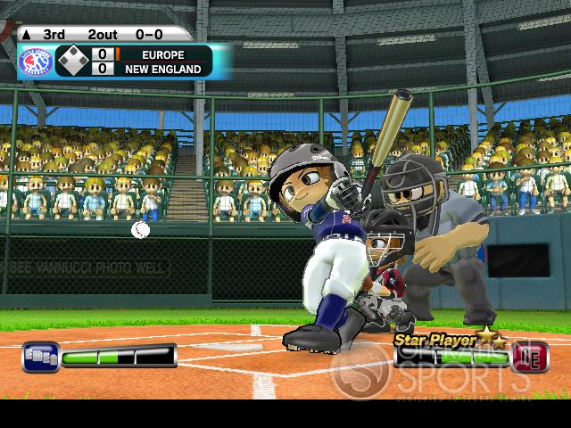 Little League World Series 2008 Screenshot #1 for Wii