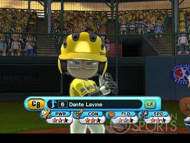 Little League World Series 2008 Screenshot #4 for Wii