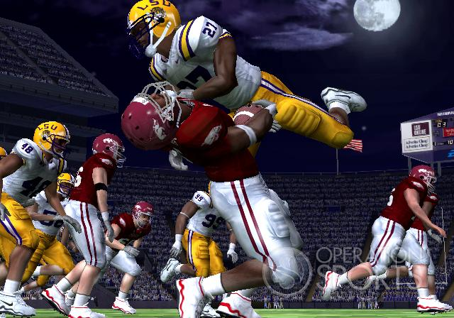 NCAA Football 09 Screenshot #1 for PS2