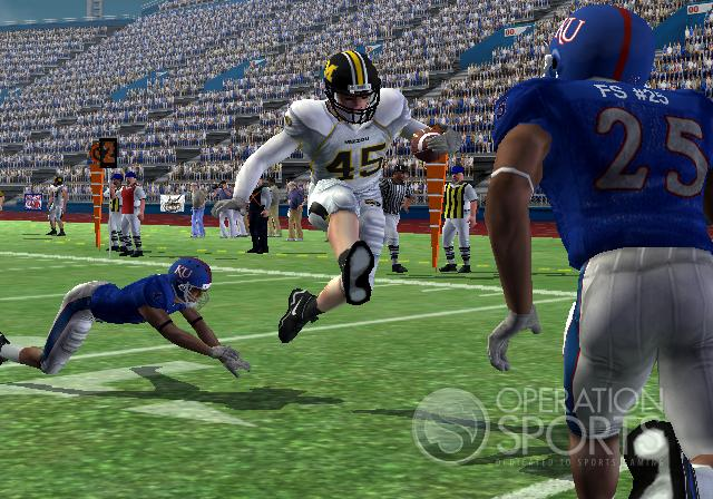 NCAA Football 09 Screenshot #2 for PS2