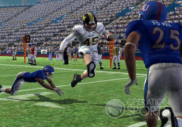 NCAA Football 09 Screenshot #2 for PS2