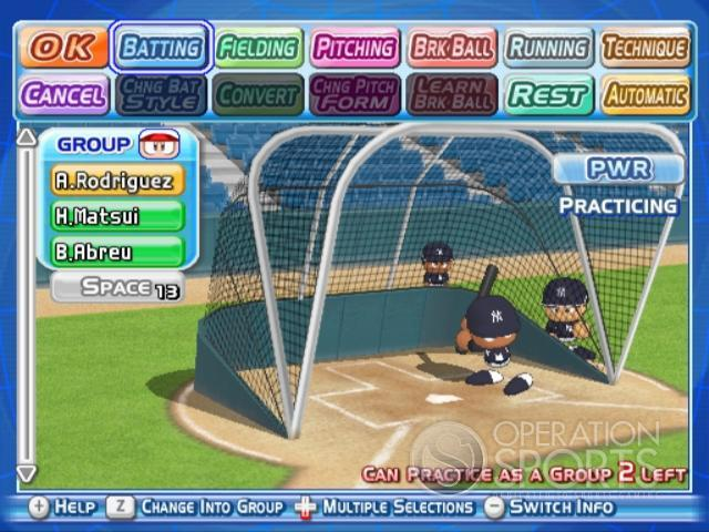 MLB Power Pros 2008 Screenshot #39 for Wii