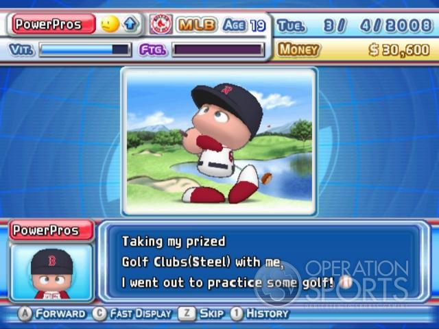 MLB Power Pros 2008 Screenshot #56 for Wii