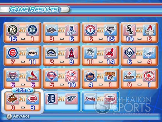 MLB Power Pros 2008 Screenshot #65 for Wii