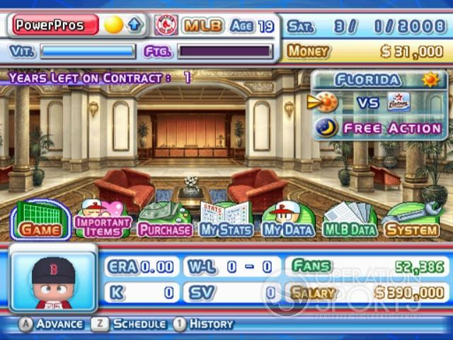 MLB Power Pros 2008 Screenshot #69 for Wii