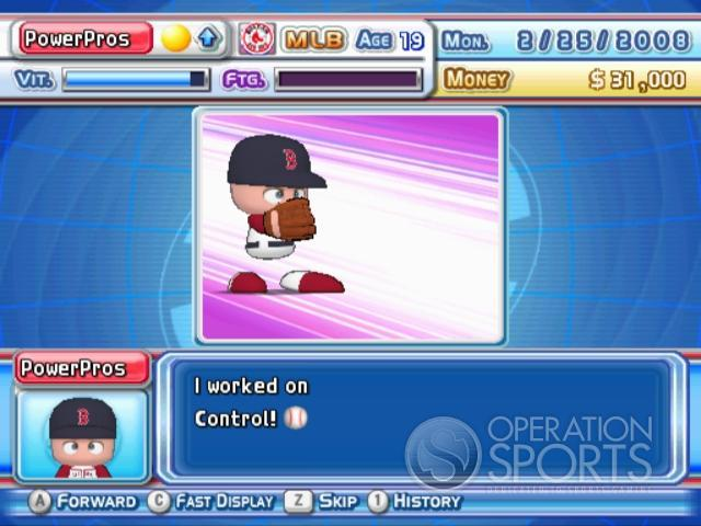 MLB Power Pros 2008 Screenshot #72 for Wii