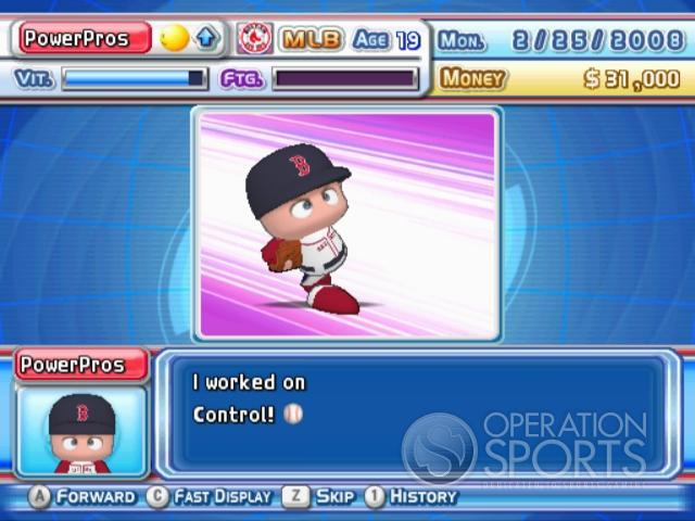 MLB Power Pros 2008 Screenshot #73 for Wii