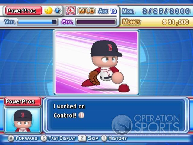 MLB Power Pros 2008 Screenshot #74 for Wii