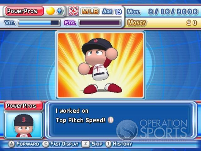 MLB Power Pros 2008 Screenshot #76 for Wii