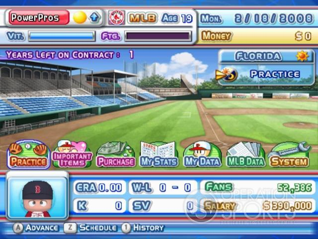 MLB Power Pros 2008 Screenshot #80 for Wii