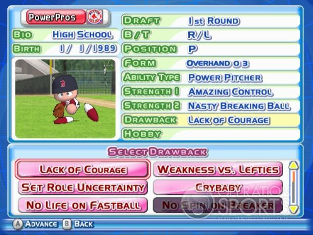 MLB Power Pros 2008 Screenshot #83 for Wii
