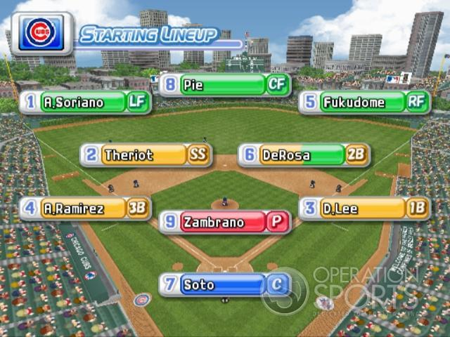 MLB Power Pros 2008 Screenshot #101 for Wii