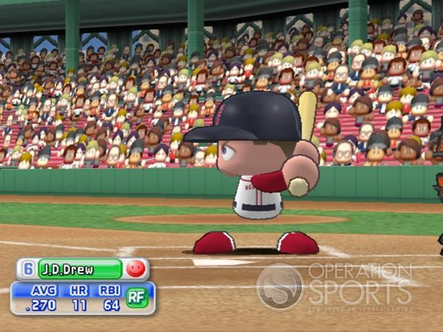 MLB Power Pros 2008 Screenshot #118 for Wii