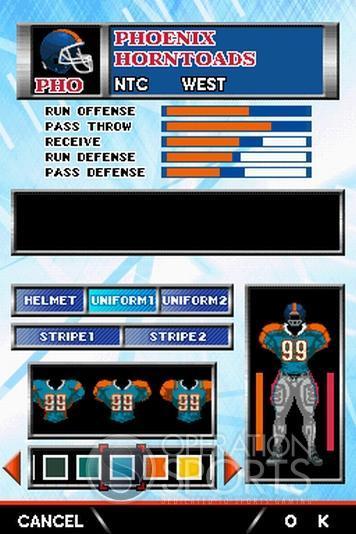 Tecmo Bowl: Kickoff Screenshot #1 for NDS