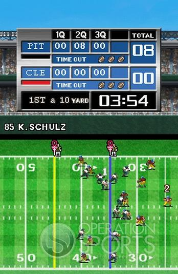 Tecmo Bowl: Kickoff Screenshot #2 for NDS