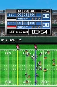 Tecmo Bowl: Kickoff screenshot #2 for NDS - Click to view