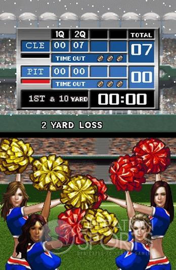Tecmo Bowl: Kickoff Screenshot #3 for NDS