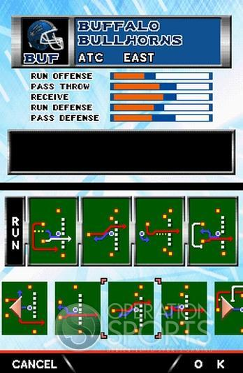 Tecmo Bowl: Kickoff Screenshot #4 for NDS