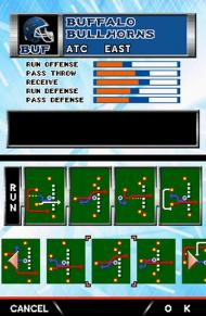 Tecmo Bowl: Kickoff screenshot #4 for NDS - Click to view