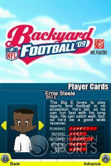Backyard Football '09 Screenshot #2 for NDS
