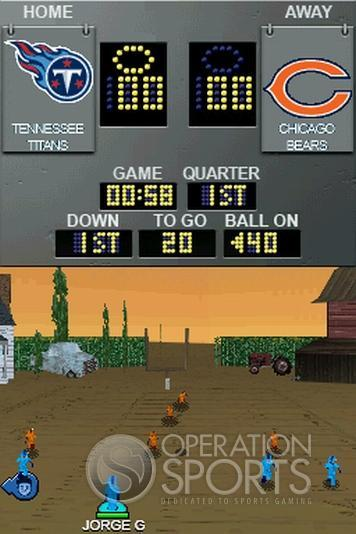 Backyard Football '09 Screenshot #4 for NDS